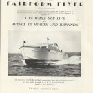 1952 Huckins Yacht Corp. Ad- The Offshore 48