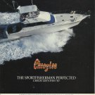 1988 Cheoy Lee Shipyards Color Ad- The 50' Sportfisherman