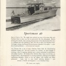 1953 Huckins Yacht Corp Ad- The Sportsman 40