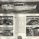 1953 Holland American Yachts Inc Ad- The Caribbean 64'- Nice Photos