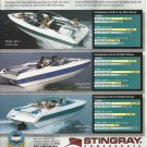 1995 Stingray Powerboats Color Ad-The 556zp- 606zp- 656zp