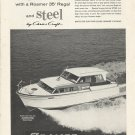 1961 Roamer Steel Boats Ad- The 35' Regal