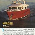 2011 Horizon EP69 Trawler Review & Specs- Photos