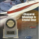 2003 Chaparral Boats Color Ad