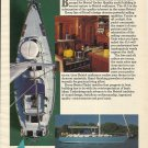 1984 Bristol Yachts Color Ad- The Bristol 45.5