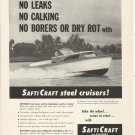 1959 Dupont Safti Craft Boats Ad- The 31' Express Cruiser