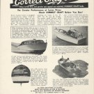 1949 Correct Craft Boats Inc Ad- 27' Sedan-27 Fisherman-15 JR.