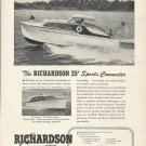 1949 Richardson Boat Co. Ad- The 25' Sports Commuter