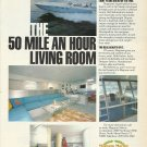 """1982 Magnum Marine Yachts Color Ad-""""The 50 Mile An Hour Living Room"""""""