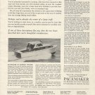 1962 Pacemaker Sea Skiff Cruisers Ad- The 30' Express Cruiser