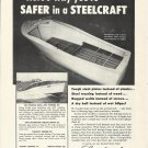 1956 Steelcraft Boats Inc Ad- The 28' Express