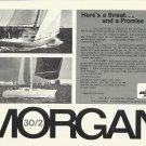1972 Morgan Yacht Corp. Ad- The Morgan 30/ 2