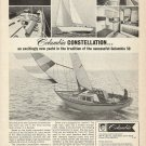 1966 Columbia Yacht Corp Ad- The 39' Constellation