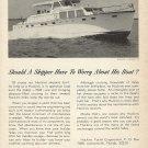 1966 Huckins Yacht Corp Ad- The Linwood 53