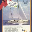 1971 Gulfstar Yachts Inc Color Ad- The Gulfstar 43- Specs