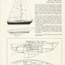 1971 Ericson Yachts 29' Fiberglass Sloop Review & Specs