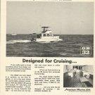 1971 American Marine LTD Ad- Grand Banks 32 Diesel Cruiser