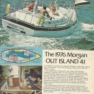 1976 Morgan Yacht Corp Color Ad- The Out Island 41