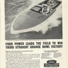 1964 Ford Marine Engines Ad- 16' Rayson- Craft Boat Tiny Tim
