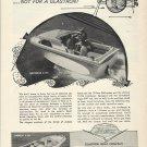 1964 Glastron Boat Company Ad- Gulfcruiser V-195 & Caribbean V-234