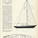 1966 Chris- Craft Boats 37' Apache Class Sailboat Review & Specs