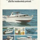 1966 Chris- Craft Boats 2 Page Color Ad- Corinthian Models