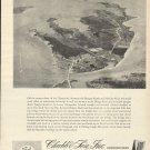 1967 Chubb & Son Insurance Ad-Great Aerial Photo of Fishing Creek Maryland