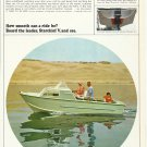 1966 Starcraft Boats 2 Pg Color Ad- Starchief V - Caravel V- Wildcat V