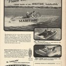 1966 Maritime Boats Ad- The New Brunswick & Nova Scotia