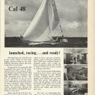 1966 Jensen Marine Corp. Ad- The Cal 48 Sailboat