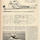 1966 Fairliner Pleasure Craft 33' Golden Eagle Cruiser Review & Specs-Photo