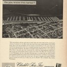 1966 Chubb & Son Insurance Ad-Great Aerial Photo of Shilshole Bay Seattle