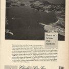 1966 Chubb & Son Insurance Ad-Great Aerial Photo of Dutch Island Harbor R.I.