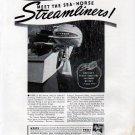 1941 Johnson Motors Ad- The Johnson sea- Horse Streamliner Outboard Motor
