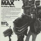 1976 Mercury Marine Ad- Black Max Outboard Motors