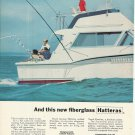 1976 Hatteras Yacht 2 Page Color Ad- The 38' Convertible