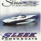 2007 Sleek Powerboats Color Ad