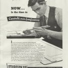 1945 Sturgeon Bay Shipbuilding Company Ad- Engineer Theme