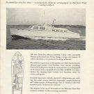 1957 Huckins Yacht Corp Ad- The Atlantis 52