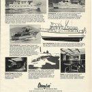 1975 Cheoy Lee Shipyards Ad- Trawler 55-50-36 & Corsair 42