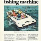 1973 Evinrude Motors Color Ad- The 19' Sport Fisherman Boat