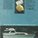 1974 Trojan Yacht Color Ad- The 44' Motor Yacht