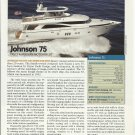 2008 Johnson 75 & Viking 60 Motor Yachts Double Reviews & Specs-Photos