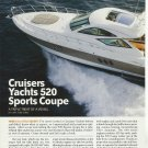 2008 Cruisers Yachts 520 Sports Coupe Review & Specs- Photos