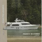 2009 Pacific Mariner Yacht Color Ad- The Pacific 85