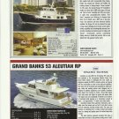 2010 Grand Banks 53 & Krogen 55' New Trawlers Reviews & Specs- Photos