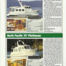 2010 North Pacific 43 & 39' Pilothouse New Trawlers Reviews & Specs-Photos