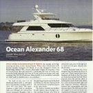2010 Ocean Alexander 68' New Yacht Review & Specs- Photos