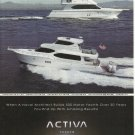 2009 Activa Yachts Color Ad