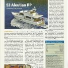 2010 Grand Yachts Inc 53' Aleutian RP Review & Specs- Photo